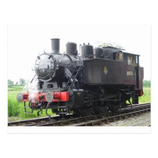 Yankee Tank steam train Post Cards