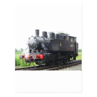 Yankee Tank steam train Postcard
