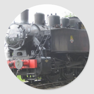 Yankee Tank steam train Round Sticker