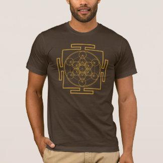 Yantra Metatrons Cube, Merkaba, Sacred Geometry T-Shirt