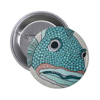 Yao Ling Cod Pinback Buttons