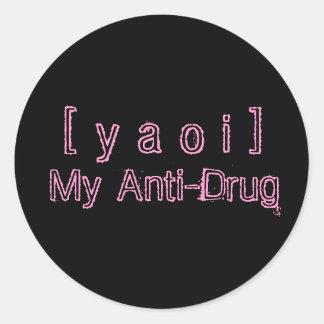 Yaoi Anti-Drug Sticker