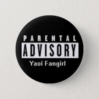 yaoi fangirl 6 cm round badge