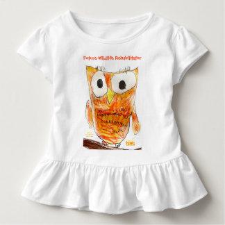 YAP   Custom Designer Owl   Youth Art Project Toddler T-Shirt