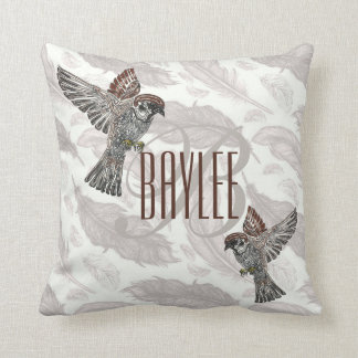 YAP | Tribal Sparrowhawk | Youth Art Project Cushion