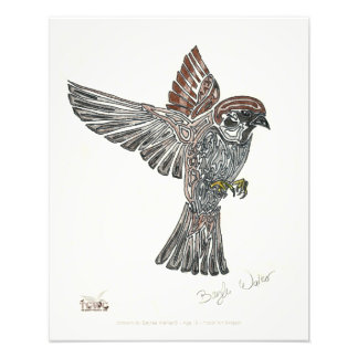 YAP | Tribal Sparrowhawk | Youth Art Project Photograph