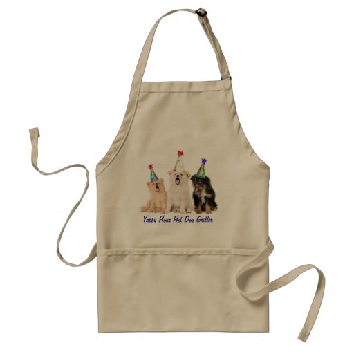 Yappy Hour Hot Dog Griller Apron