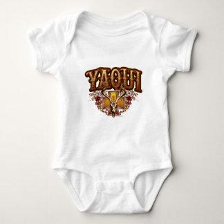 yaqui deer skull design infant creeper