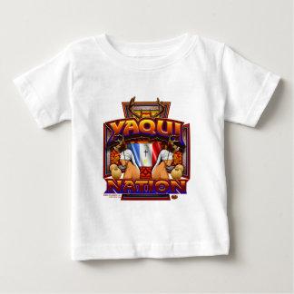 Yaqui Nation Flag Deer Dancer design Baby T-Shirt