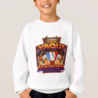 Yaqui Nation Flag Deer Dancer design Sweatshirt