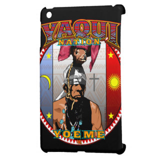 Yaqui Yoeme Deer Dancer design iPad Mini Covers