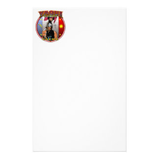 Yaqui Yoeme Deer Dancer design Stationery