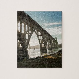 Yaquina Bay Bridge in Newport, Oregon Puzzles