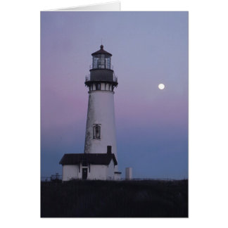 Yaquina Head Lighthouse Card