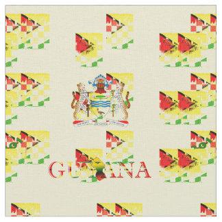 Yard  Guyana Flag and Coat of Arms Custom Designed