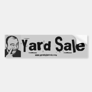 Yard Sale Bumper Sticker