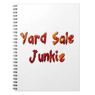 Yard Sale Junkie Notebooks