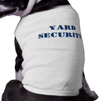 Yard Security Sleeveless Dog Shirt