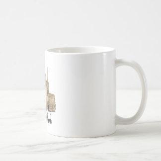 YardToolsLeaningStacksHay112611 Basic White Mug