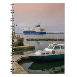 Yarmouth Ferry Spiral Notebook