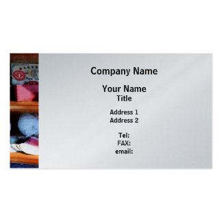 Yarn and Thread in General Store - Platinum Finish Business Cards
