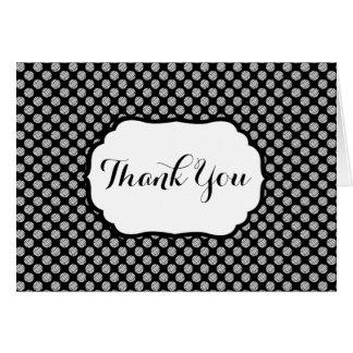 Yarn Balls Pattern ♥ Thank You Crafts Card