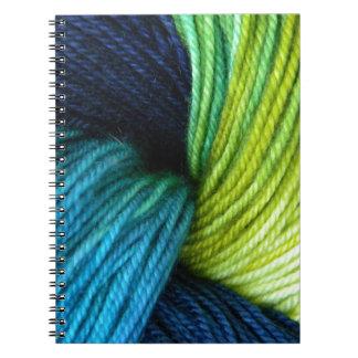 Yarn print, knitting, crochet notebook