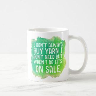 Yarn Sale Coffee Mug