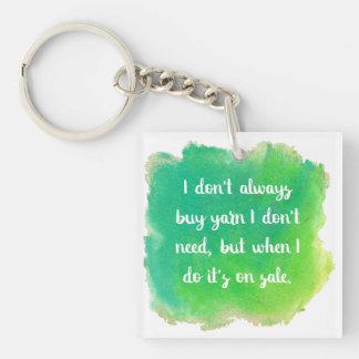 Yarn Sale Joke Key Ring
