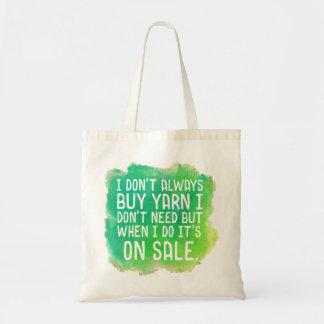Yarn Sale Tote Bag