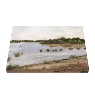Yarralumla Bay Canvas Print