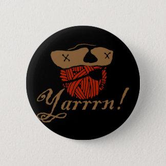 Yarrn 6 Cm Round Badge