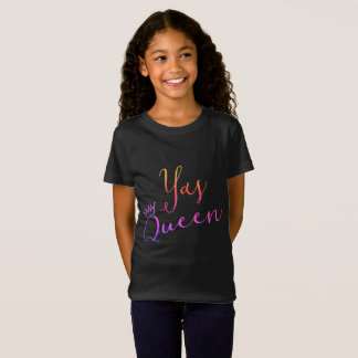 Yas Queen!  Crown Childs T Shirt