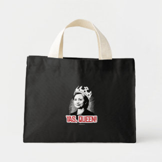 Yas, Queen - Hillary Party Animal - copy Politiclo Mini Tote Bag