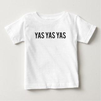 Yas Yas Yas Print Baby T-Shirt