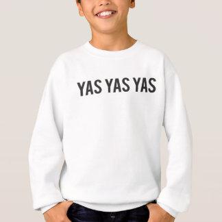 Yas Yas Yas Print Sweatshirt