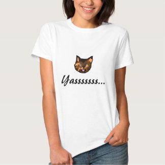 """Yassss"" Cat Tshirt"