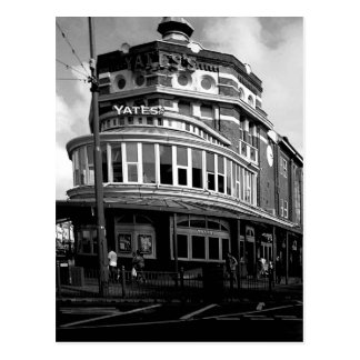 Yates's Wine Lodge B/W Postcard