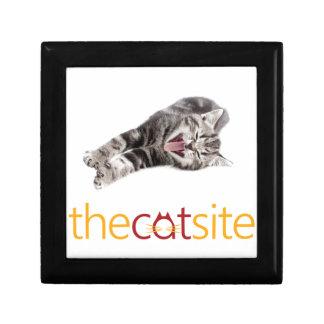Yawning or Laughing cat Gift Box