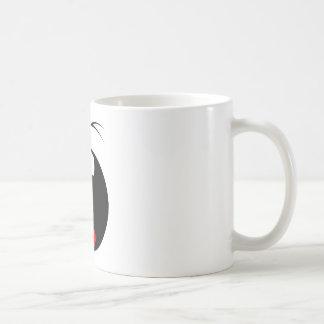 Yawning Smiley Face mug