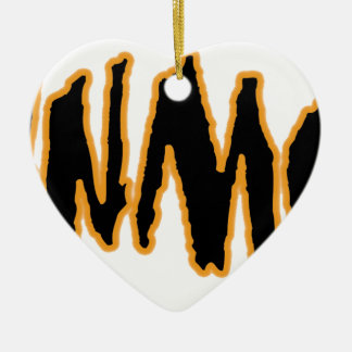 YaWNMoWeR LTTRng Ceramic Ornament