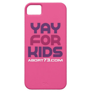 Yay for Kids / Abort73.com iPhone 5 Cases