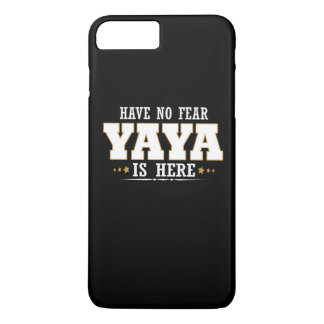 YAYA IS HERE iPhone 7 PLUS CASE