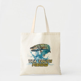 YCA Youth Fishing - Tote Bag