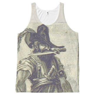 ye ideal pirate All-Over print singlet