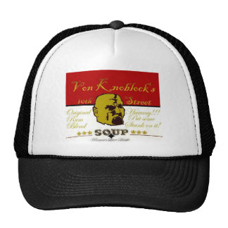 Ye Old School Trucker Cap; Soup by Von Knoblock Trucker Hat