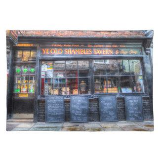 Ye Old Shambles Tavern York Placemat