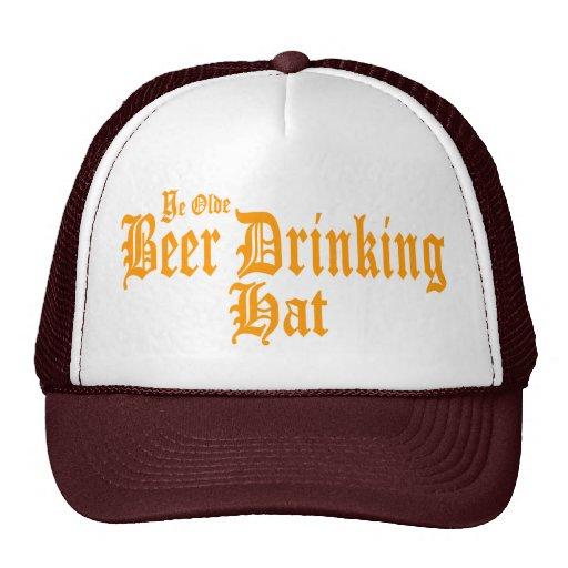 Ye Olde Beer Drinking Hat