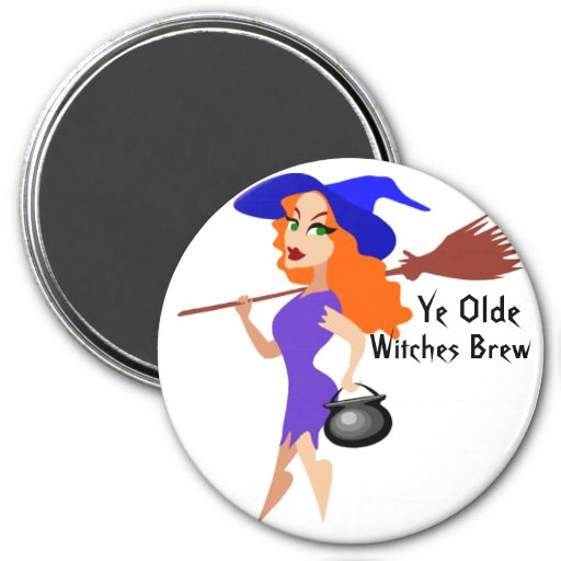 Ye Olde, Witches Brew Magnet