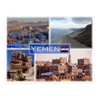 YE Yemen - Postcard